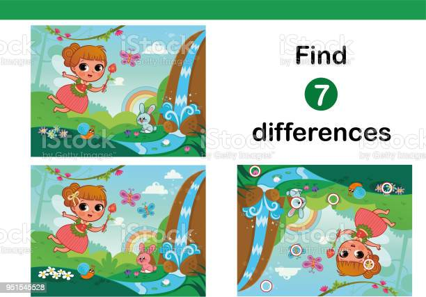 Find 7 differences education game for children vector id951545528?b=1&k=6&m=951545528&s=612x612&h=sjz04wbud1i8bqrykxumpvt310m2pxh9ck8mkkwnf1k=