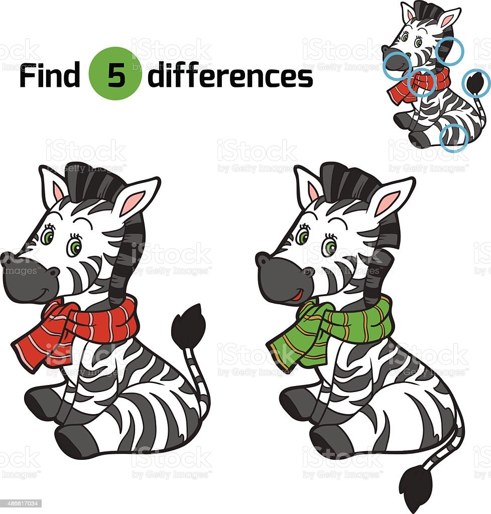 Uncategorized Zebra Game find differences christmas winter zebra game for children stock royalty free vector art