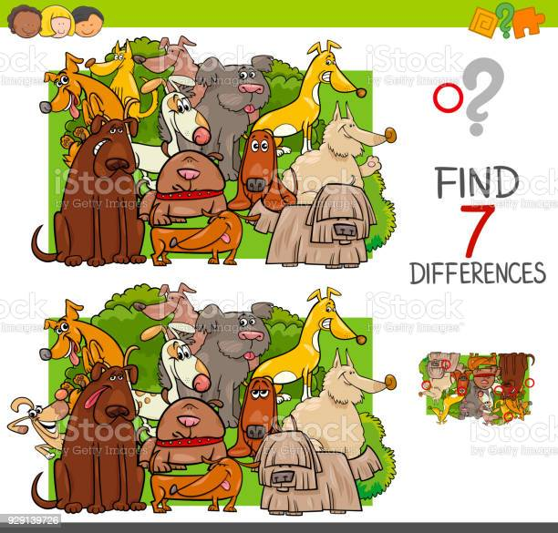 Find differences with dogs animal characters vector id929139726?b=1&k=6&m=929139726&s=612x612&h=cctd0z4pkunl gyoflymmnudn5um1wcjsbauryqxu7y=
