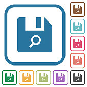 Find file simple icons