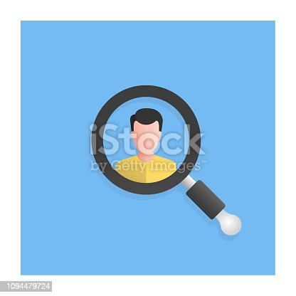 istock Find People Icon 1094479724