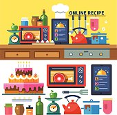 Find recipes online