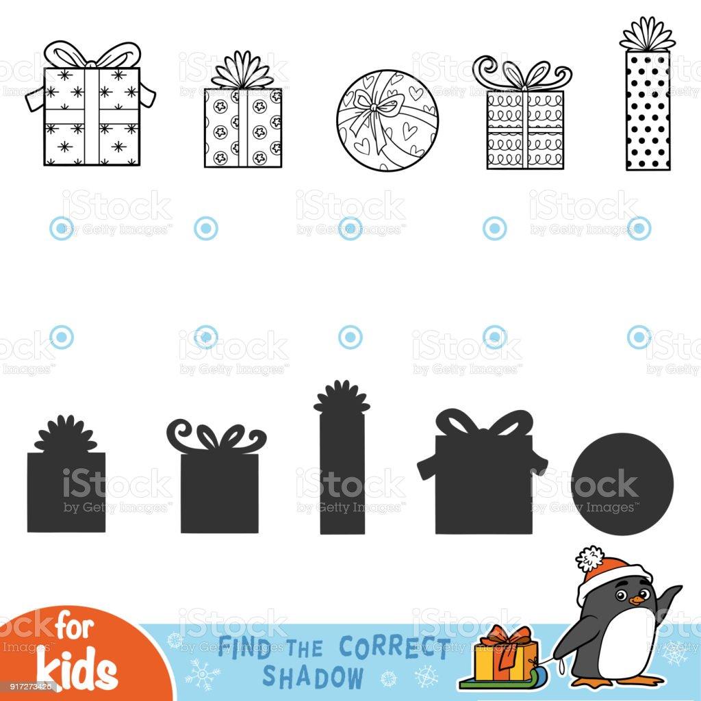 Finden Sie Den Richtigen Schatten Schwarz Weißweihnachtsgeschenke ...
