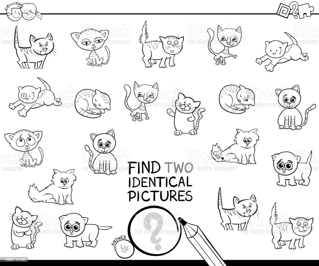 83 Coloring Book Kitten Free Images