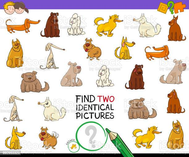 Find two identical pictures activity with dogs vector id892953320?b=1&k=6&m=892953320&s=612x612&h=ilntqf6emlrh6dkmt7awj7rkftmqr0ptpe9d4ge ac0=
