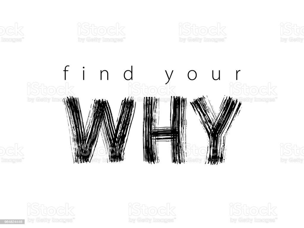 Find Your Why text. Vector illustration. Motivational inspirarional quote. Hand drawn word. Dry brush Modern calligraphy royalty-free find your why text vector illustration motivational inspirarional quote hand drawn word dry brush modern calligraphy stock vector art & more images of asking