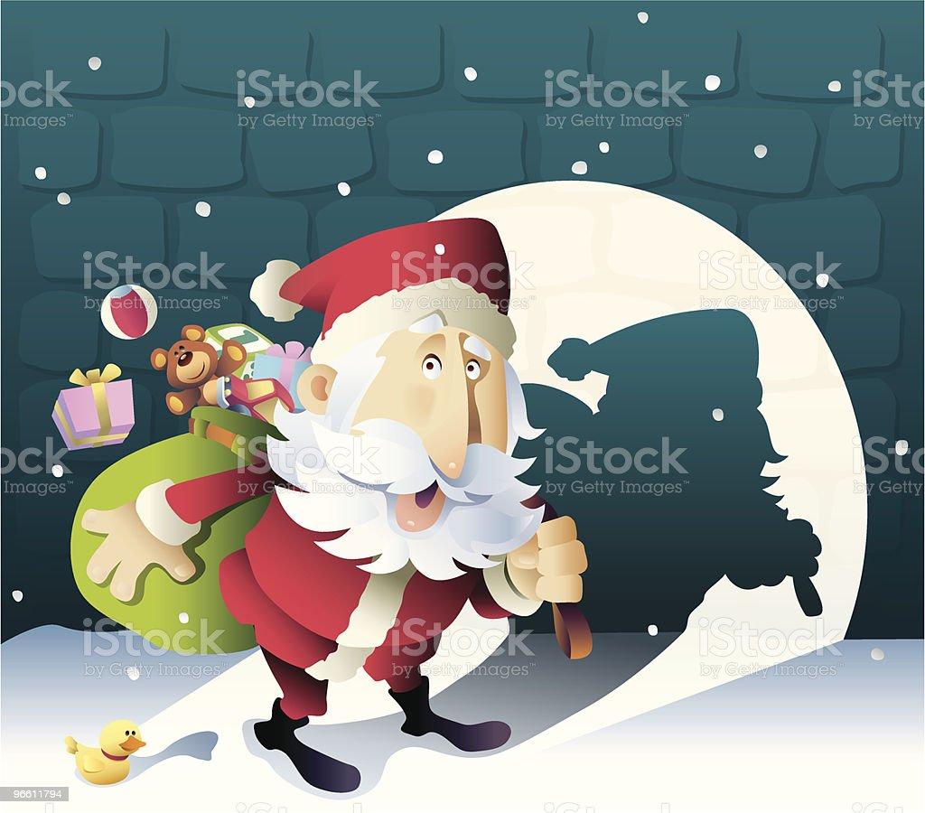 finding santa - Royalty-free Adult stock vector