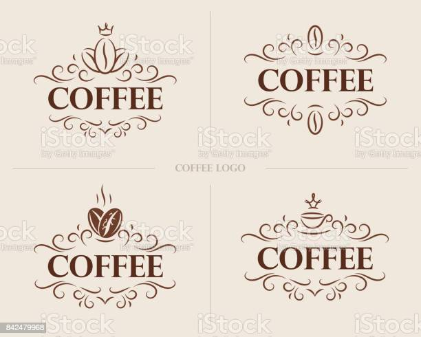 Fine flourish luxury calligraphic coffee emblem design template label vector id842479968?b=1&k=6&m=842479968&s=612x612&h=euw cgktqom6rypzp  xxde7ytjhs0oor0bydbb6af0=
