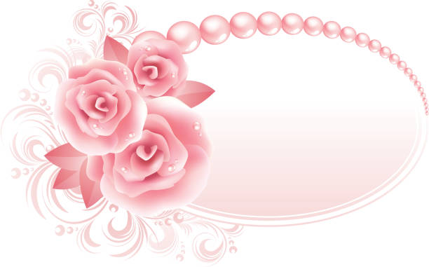 Royalty Free Roses And Pearls Clip Art, Vector Images ...