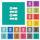 istock Fine tune square flat multi colored icons 1138556268