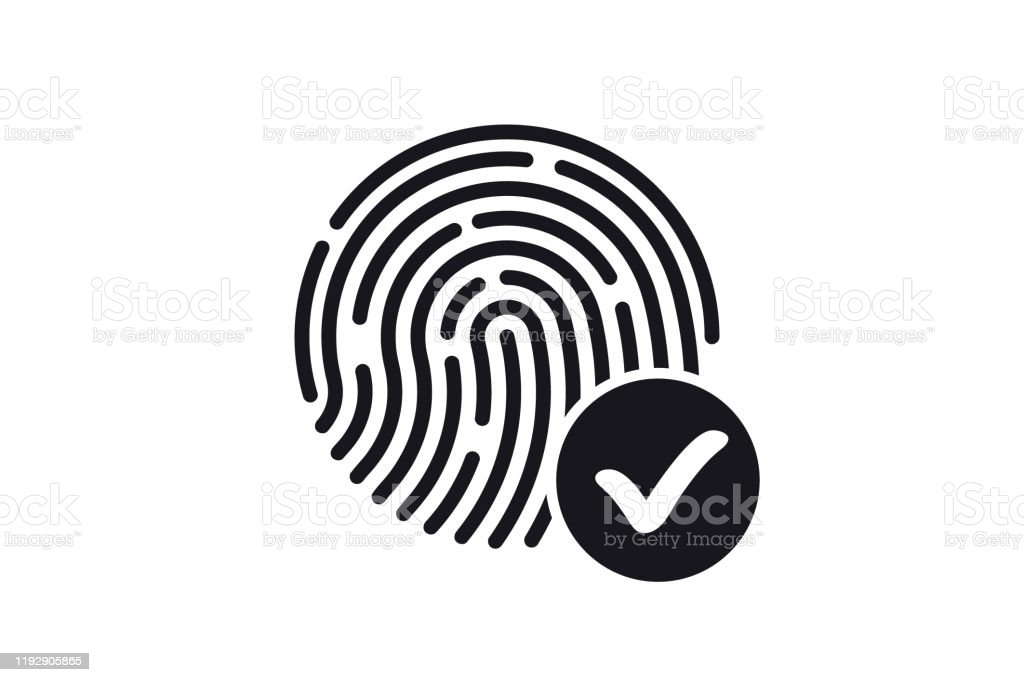 fingerprint accepted icon id icon fingerprint scanning digital touch scan identification of electronic sensor authenticationbiometric access control fingerprint screening security system stock illustration download image now istock fingerprint accepted icon id icon fingerprint scanning digital touch scan identification of electronic sensor authenticationbiometric access control fingerprint screening security system stock illustration download image now istock