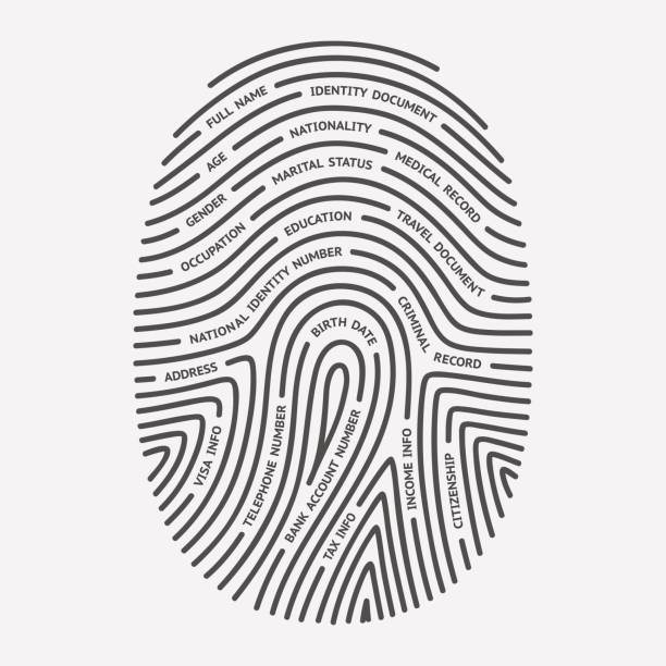Best Thumb Print Illustrations, Royalty-Free Vector