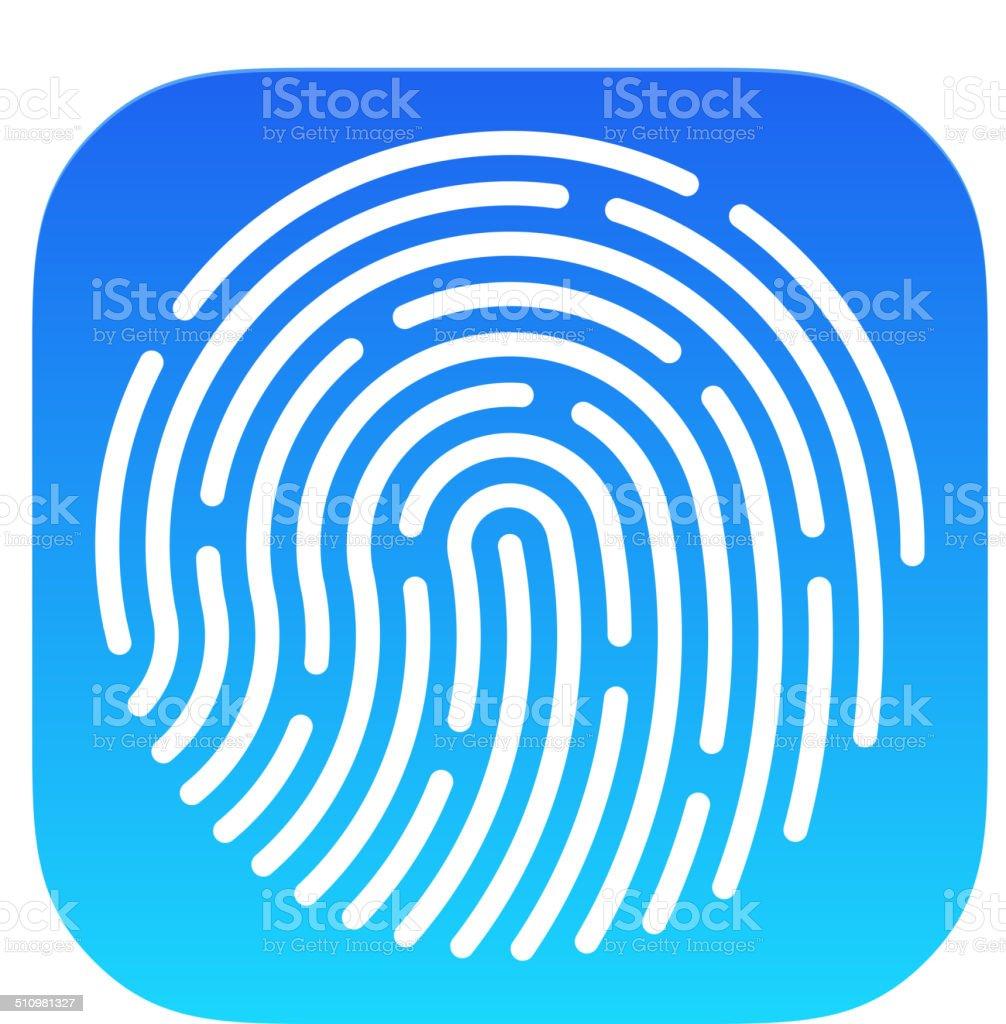 Fingerprint App icon background