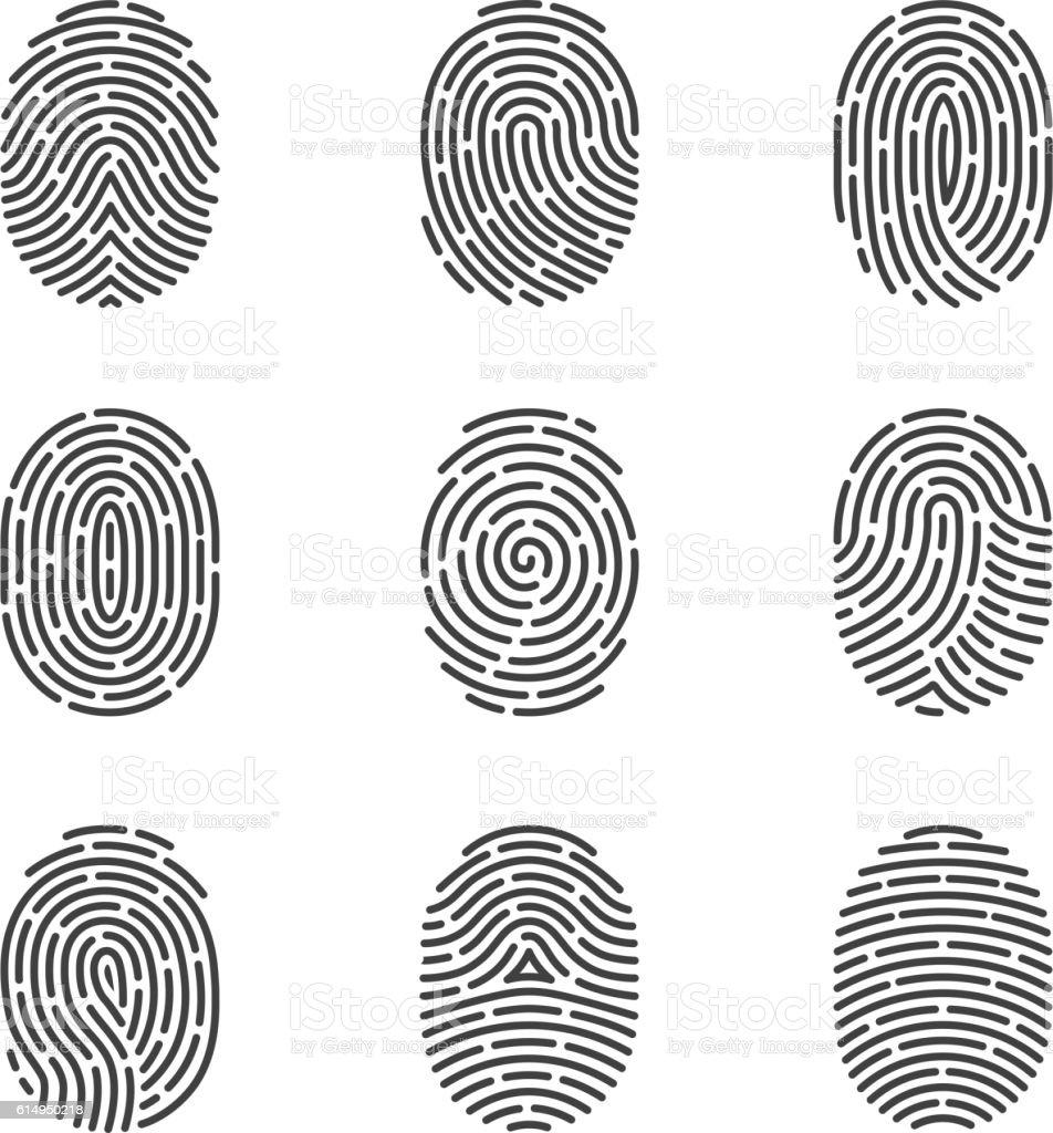 royalty free fingerprint clip art vector images illustrations rh istockphoto com fingerprint tree clip art fingerprint analysis clipart