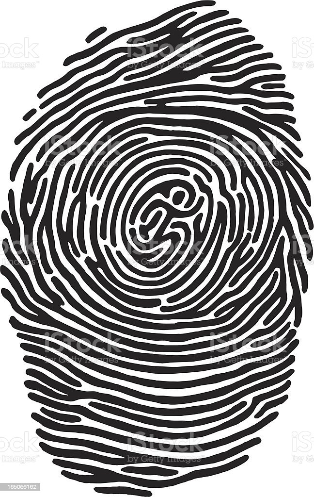 Fingerprint Runner royalty-free fingerprint runner stock vector art & more images of city