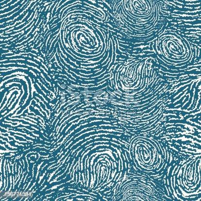 Fingerprints texture seamless pattern