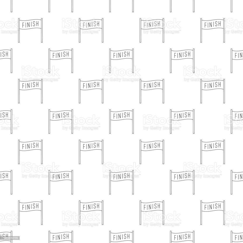 Finish pattern seamless royalty-free finish pattern seamless stock vector art & more images of backgrounds