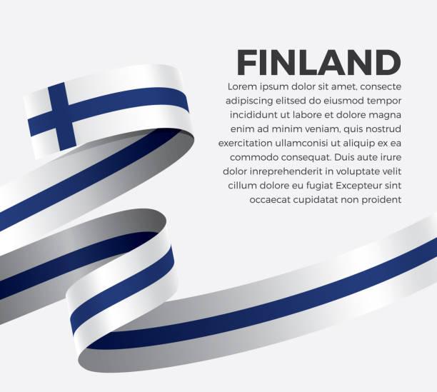 ilustraciones, imágenes clip art, dibujos animados e iconos de stock de fondo de bandera de finlandia - bandera finlandesa