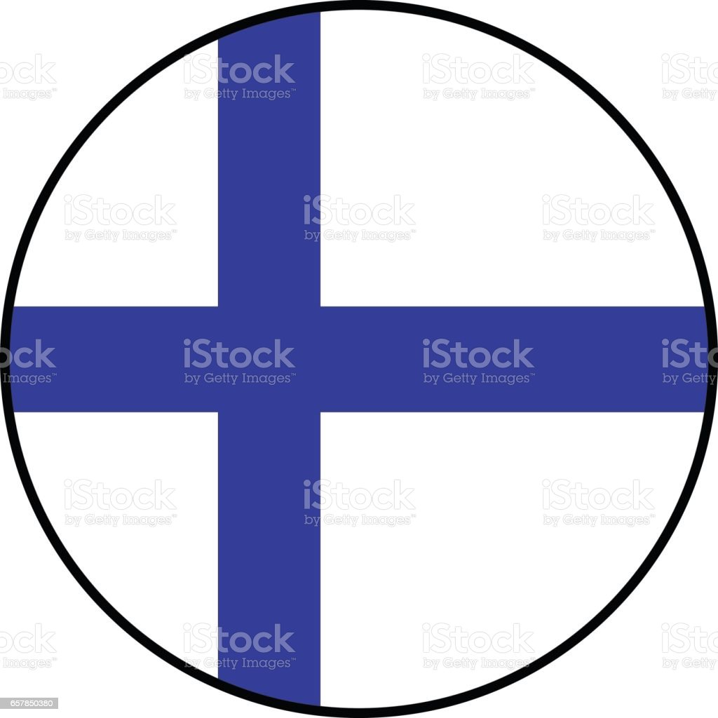Finland flag vector art illustration