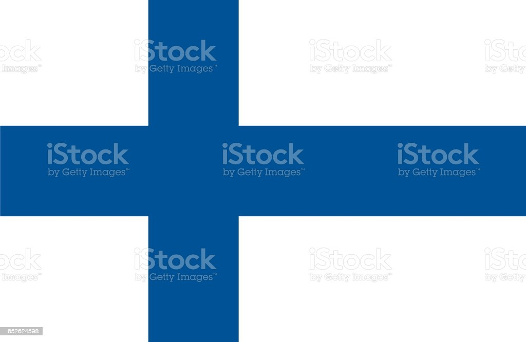 Finland vector art illustration