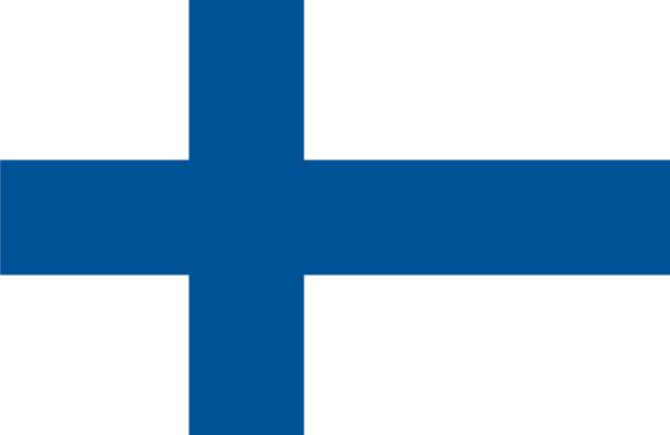 finland - finnish flag stock illustrations, clip art, cartoons, & icons