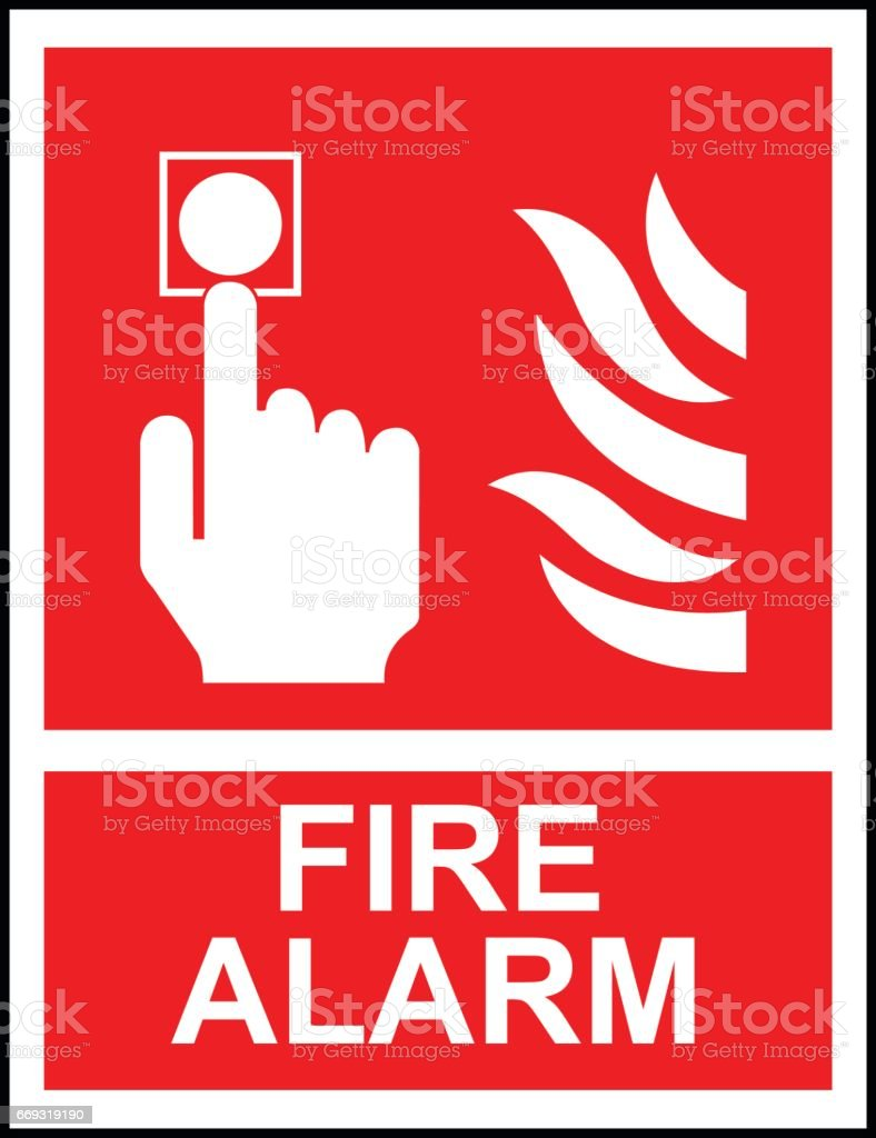 royalty free fire blanket clip art vector images illustrations rh istockphoto com clipart pictures of fire alarm fire alarm clip art free