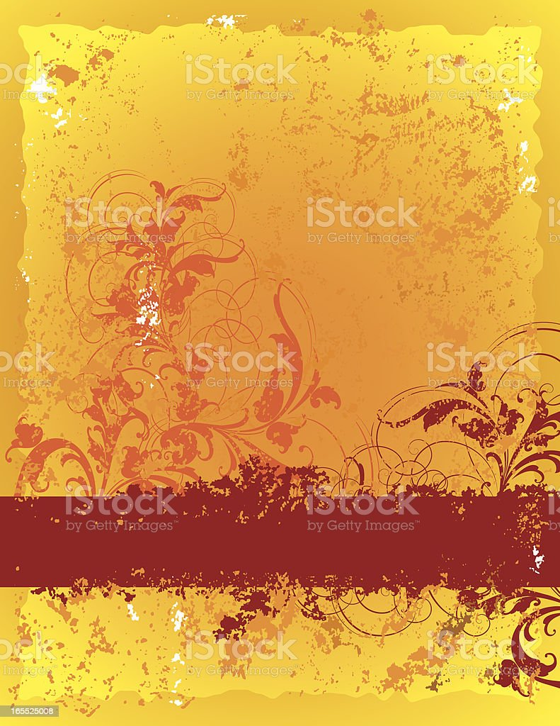 Fire and Red Background royalty-free stock vector art
