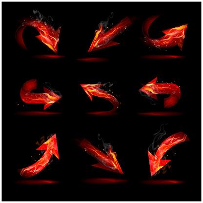 Fire and smoke arrows