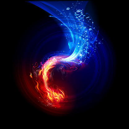 FIre and  Water Backgrounds