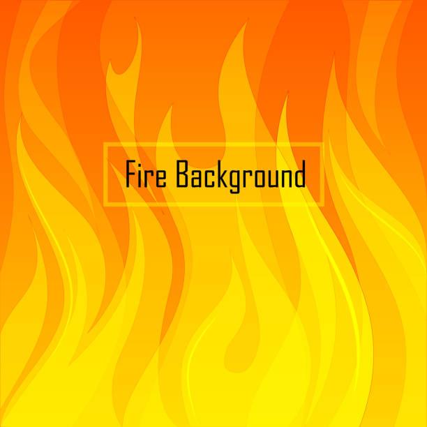 ilustrações de stock, clip art, desenhos animados e ícones de fire background - burned cooking
