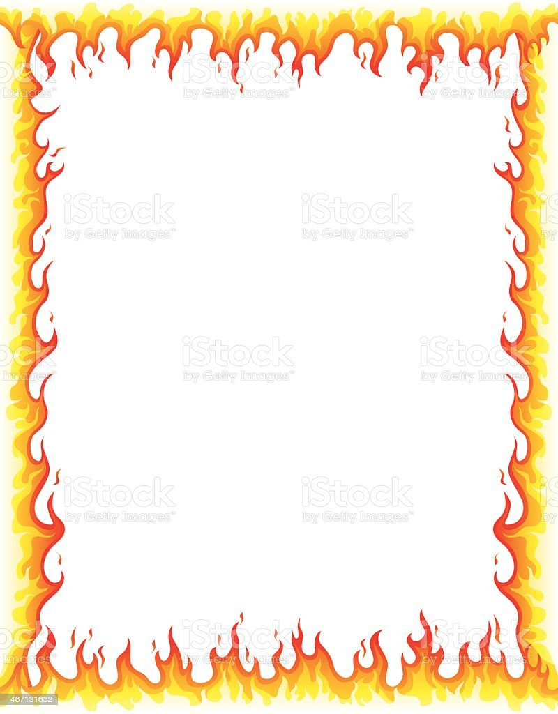 royalty free flame border clip art vector images illustrations rh istockphoto com