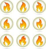 Fire buttons design