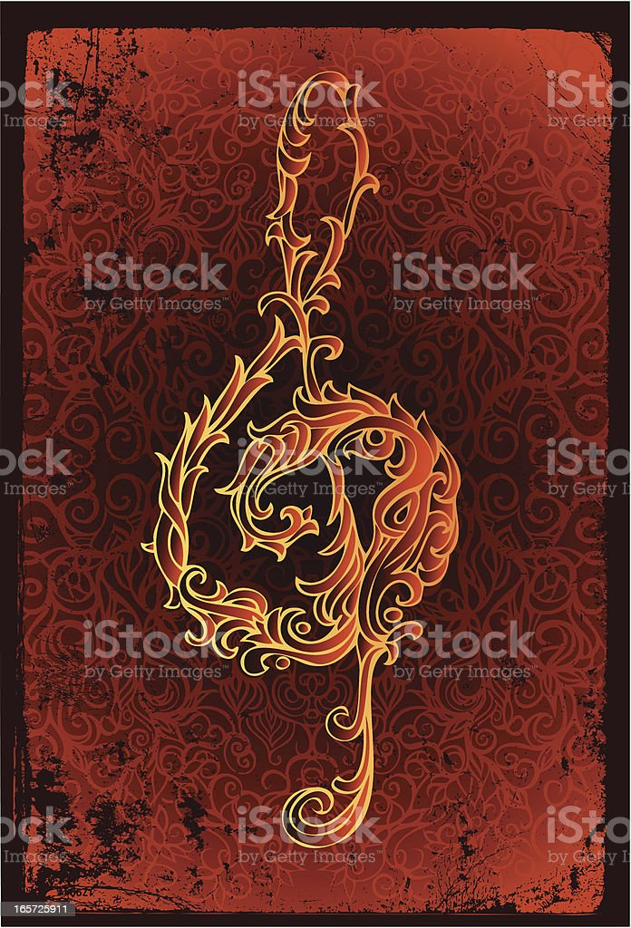 fire clef royalty-free fire clef stock vector art & more images of arts culture and entertainment