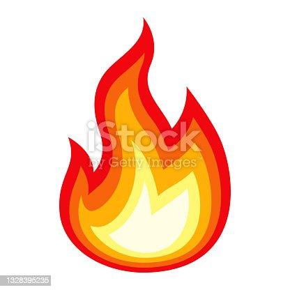 istock Fire Emoji Icon 1328395235