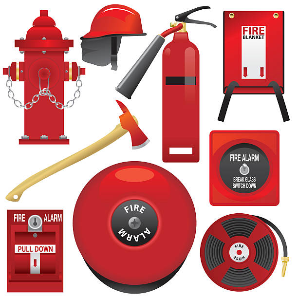 Fire-Ausstattung – Vektorgrafik