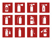 fire extinguisher icons