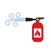 Fire extinguisher. eps 10 vector file