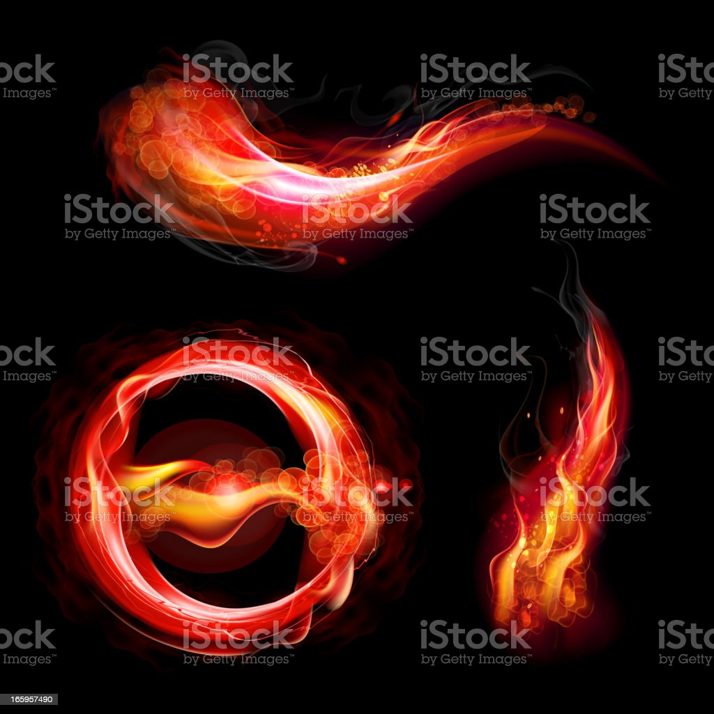 Fire flames concept royalty-free fire flames concept stock vector art & more images of abstract