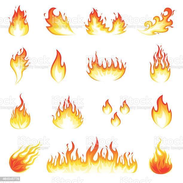 Fire Flames-vektorgrafik och fler bilder på 2015