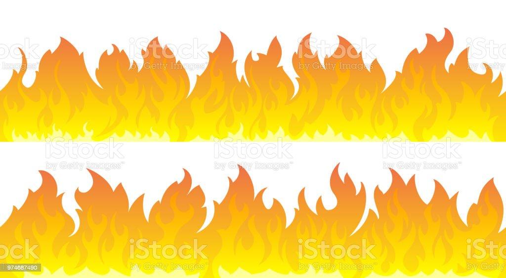 Wandkings.de Racing Aufkleber Fire Flames Feuer Flammen Sticker Set - 12  Aufkleber auf DIN A4 Bogen: Amazon.de: Auto