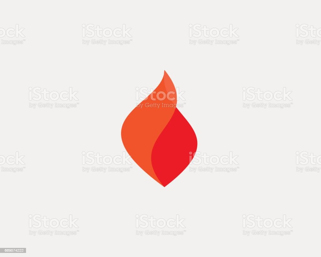 Fire grill logo symbol design. Flame vector icon logotype