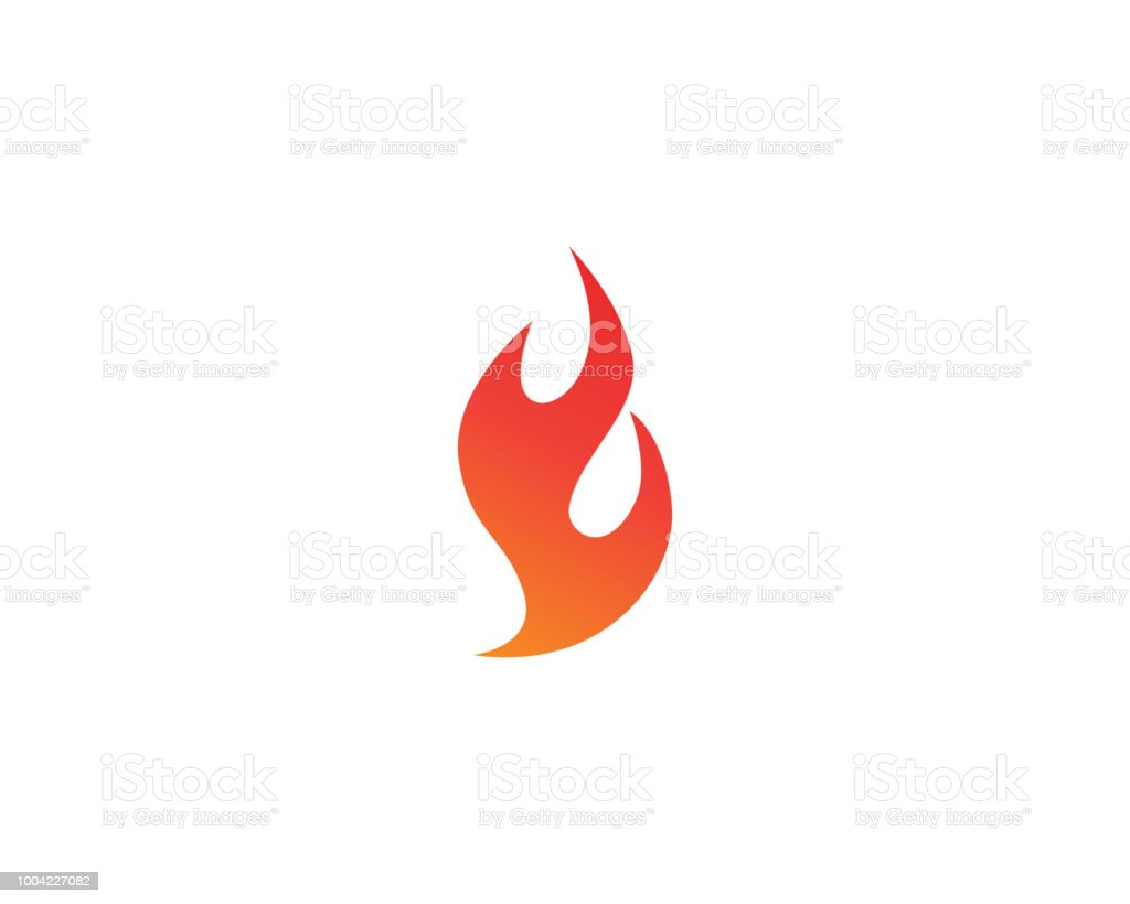 Fire Logo And Symbols Stock Illustration - Download Image Now - iStock