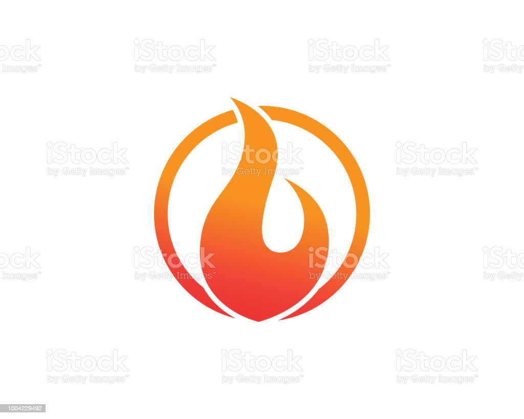 Fire Logo And Symbols Stock Illustration - Download Image