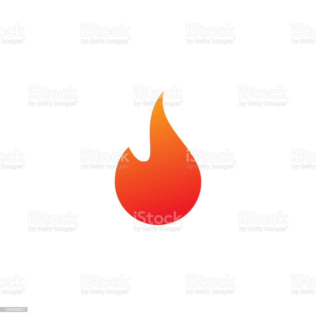 Fire Logo Or Icon Design Template Stock Illustration - Download