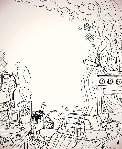 fire prevention - electrical wiring home stock illustrations, clip art, cartoons, & icons