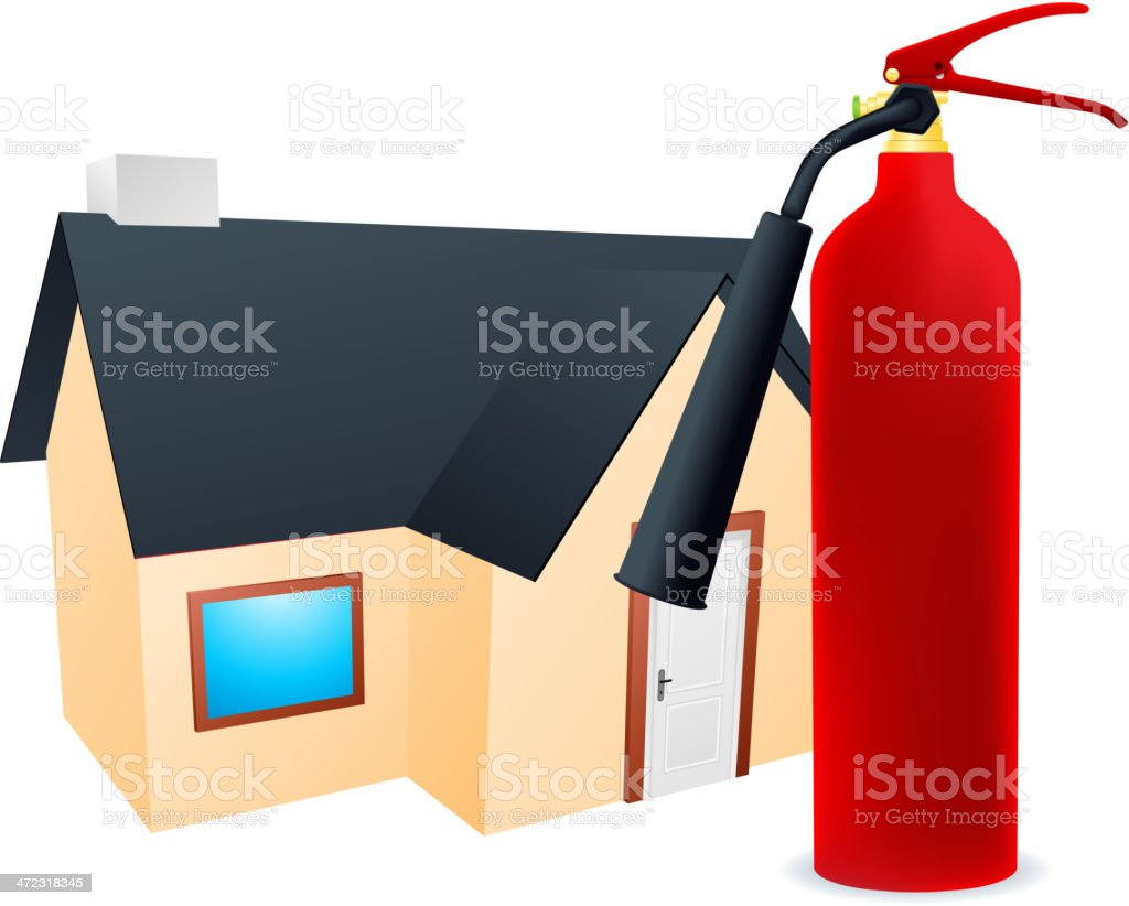 Fire Protection royalty-free stock vector art