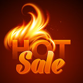 Fire realistic background. Vector illustration EPS 10