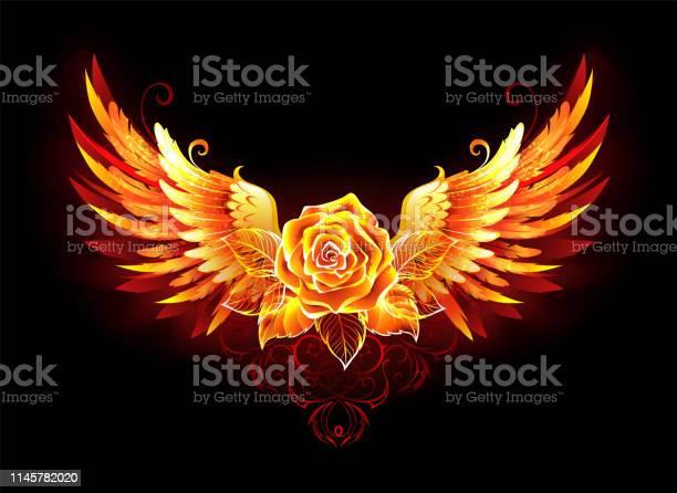 Fire rose with wings vector id1145782020?b=1&k=6&m=1145782020&s=612x612&h= wrjpa1rpjdzuzwe3lahraga93sq5ajcxmir9tikore=