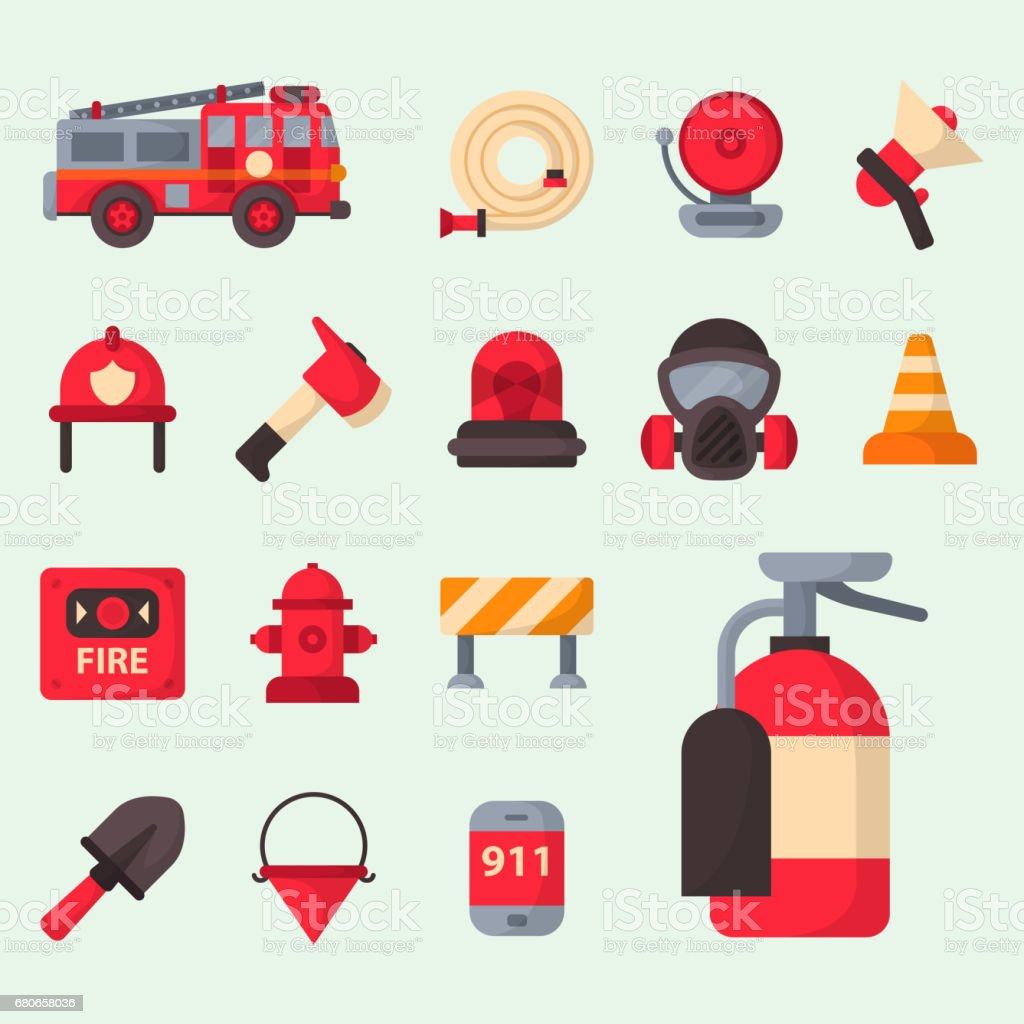 Yangın Emniyet Donanımları Acil Durum Araçları Itfaiye Güvenli