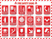 istock Fire Safety Signs 489783370